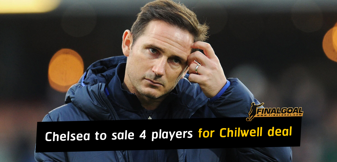 Chelsea put four players up for sale