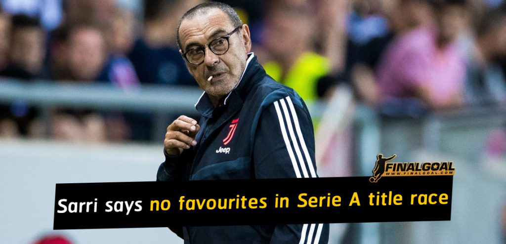 No favourites in the Serie A title race