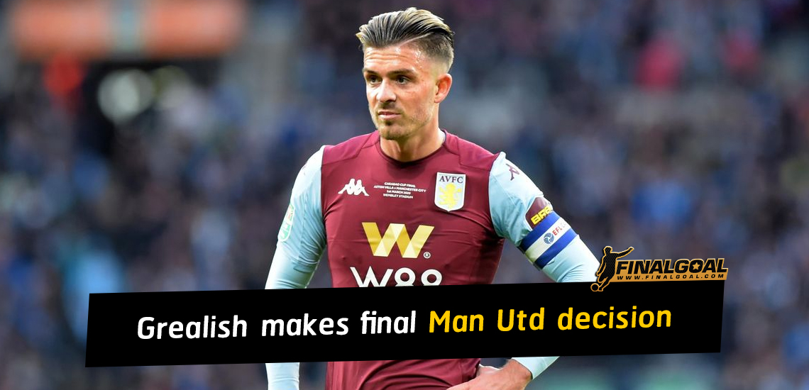 Jack Grealish makes final Manchester United transfer decision