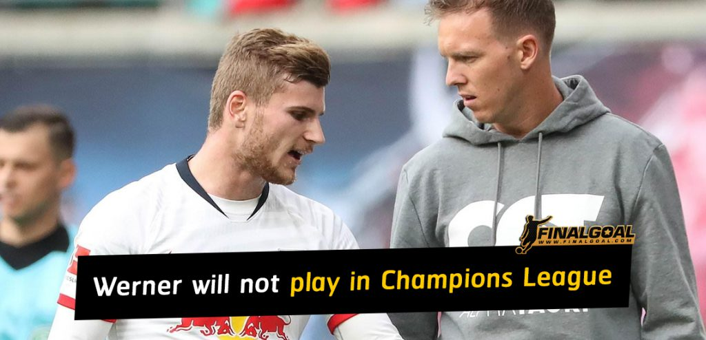 Timo Werner will not play in Champions League ahead of Chelsea move
