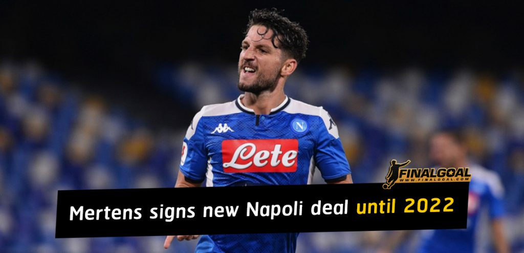 Dries Mertens officially signs new Napoli deal until 2022
