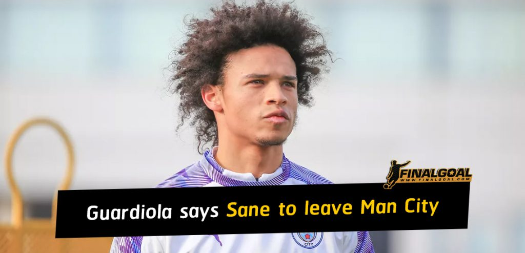 Leroy Sane to leave Manchester City