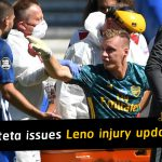 Mikel Arteta issues Bernd Leno injury update after comes off on stretcher