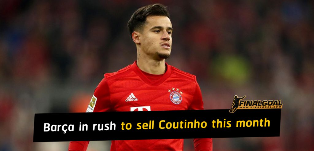 Barça in rush to sell Jean Clair Todibo & Philippe Coutinho this month