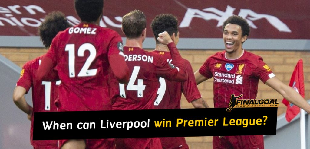 When can Liverpool win their first ever Premier League title?
