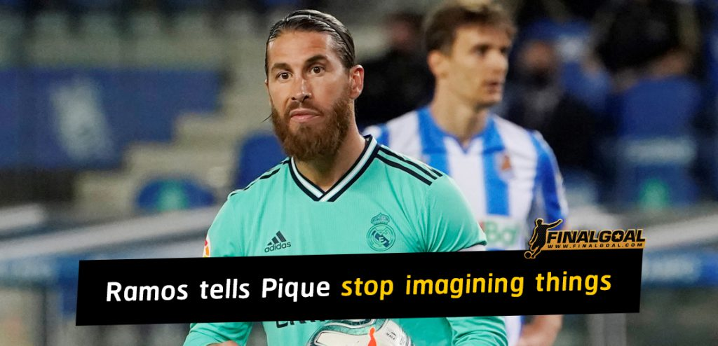 Ramos tells Pique and Barça to stop 'imagining things' about VAR