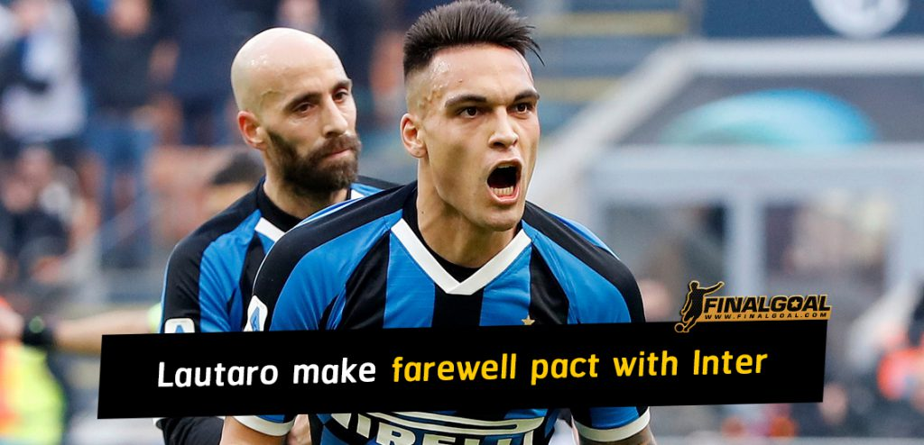 Lautaro make pact with Inter