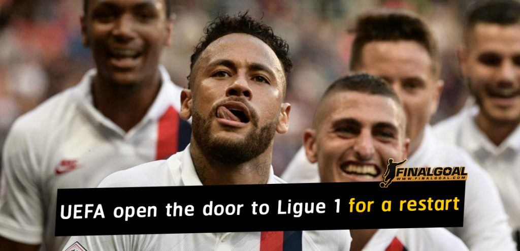 UEFA open the door to Ligue 1 for a possible restart