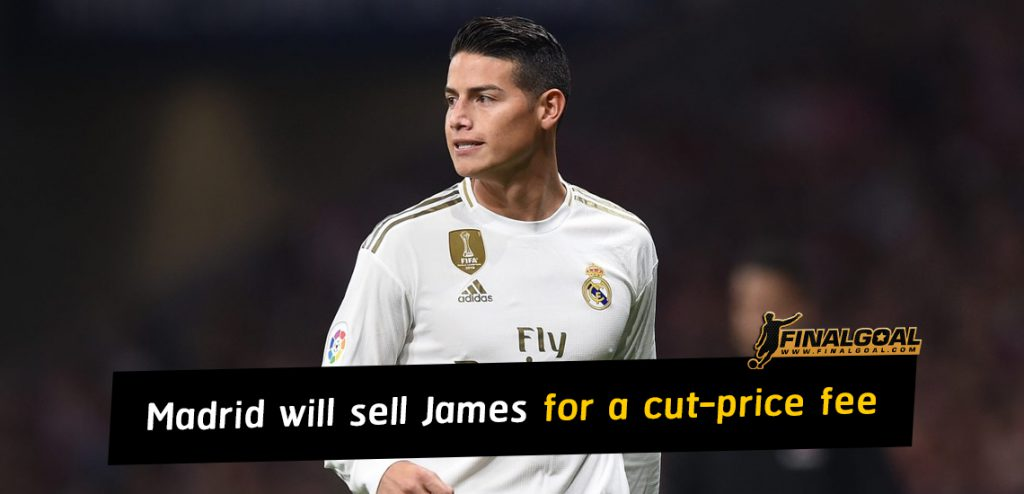 Real Madrid will sell James Rodriguez for a cut-price fee this summer