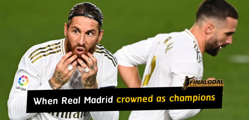 When could Real Madrid be crowned LaLiga champions?