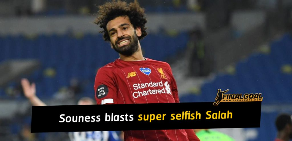 Graeme Souness says Liverpool players won't happy with Mohamed Salah