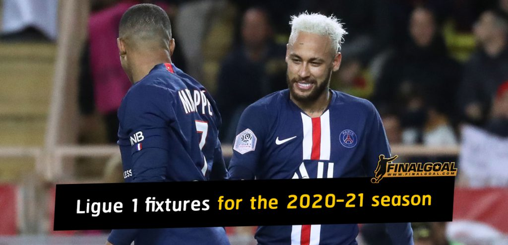 Ligue 1 fixtures as Paris Saint-Germain to start title defence at home
