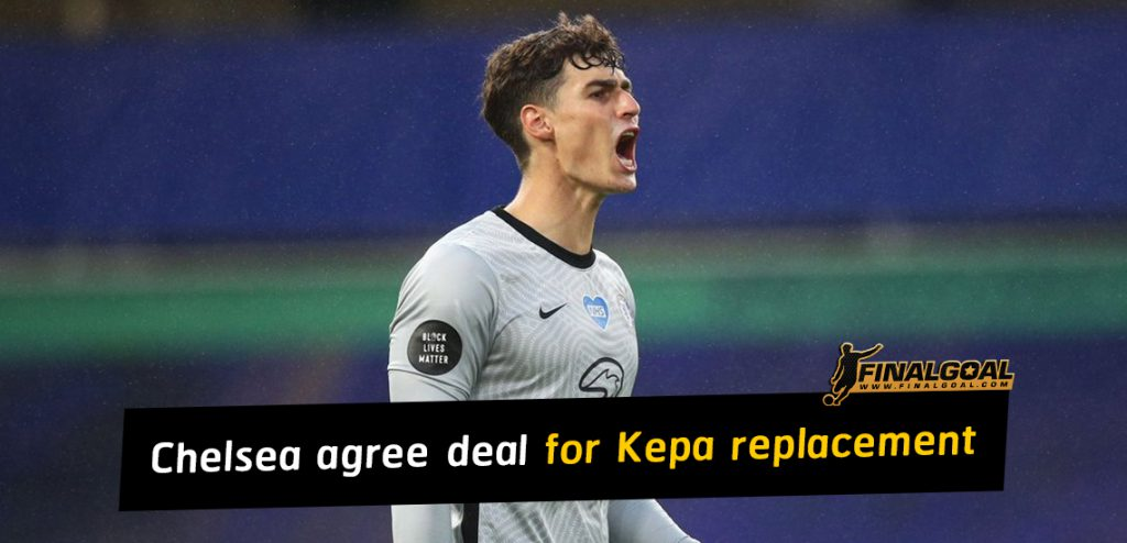 Chelsea 'agree £29.5m' transfer deal for Kepa Arrizabalaga replacement