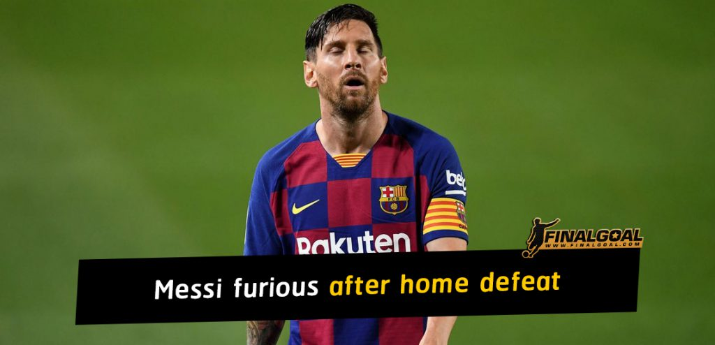 Lionel Messi furious after home defeat as Real Madrid win La Liga title