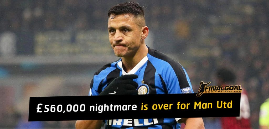 The £560000 per week nightmare is over after Alexis Sanchez joins Inter
