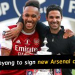 Pierre-Emerick Aubameyang set to sign new Arsenal contract