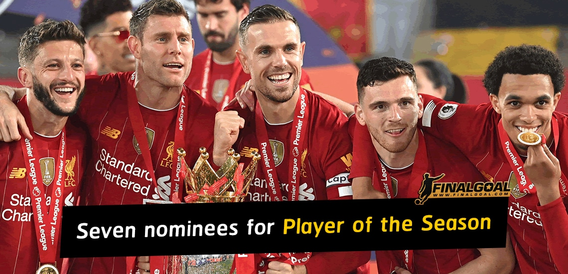 Premier League reveal candidates for Player of the Season award