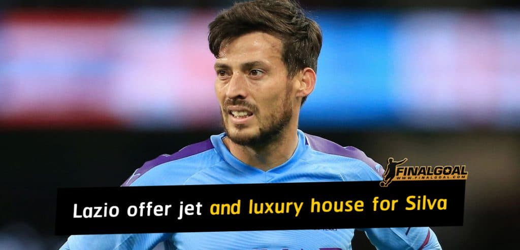 Lazio offer private jet and luxury house in two-year deal for David Silva