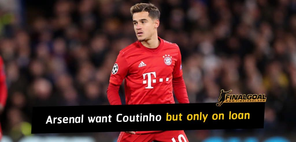 Arsenal show interest to sign Philippe Coutinho but only on loan