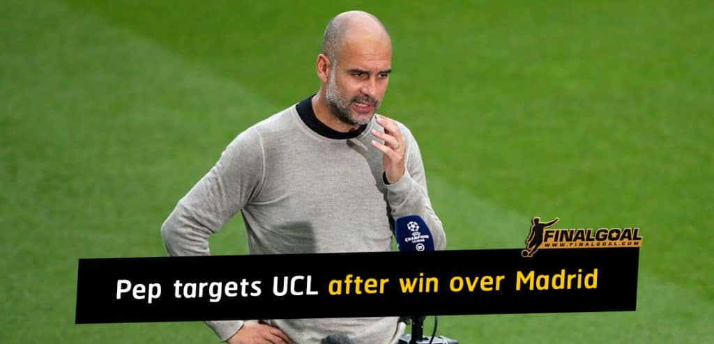 Pep Guardiola targets Champions League after win over Real Madrid