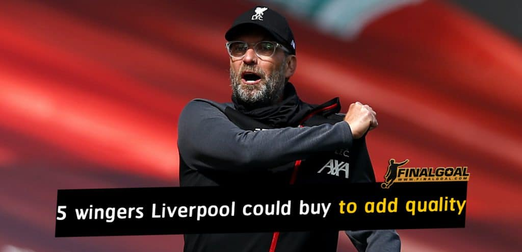 5 wingers Liverpool could buy to add quality depth to their attack