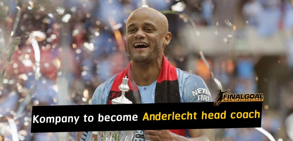 Vincent Kompany retires as player to become Anderlecht head coach