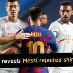 Alphonso Davies reveals Lionel Messi rejected offer of a shirt swap