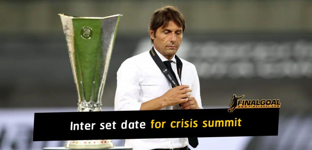 Inter set date for crisis summit between Antonio Conter and directors