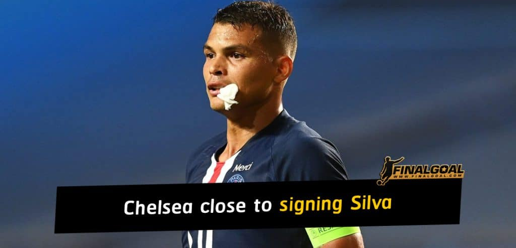 Chelsea close to signing Thiago Silva on one-year deal
