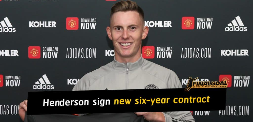 Dean Henderson sign a new six-year contract with Manchester United