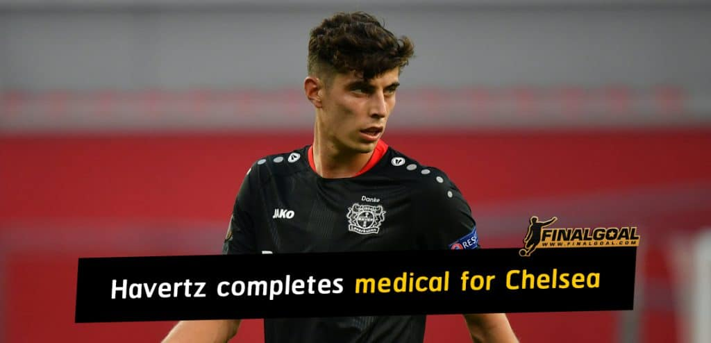 Kai Havertz to be most expensive British transfer after Chelsea medical