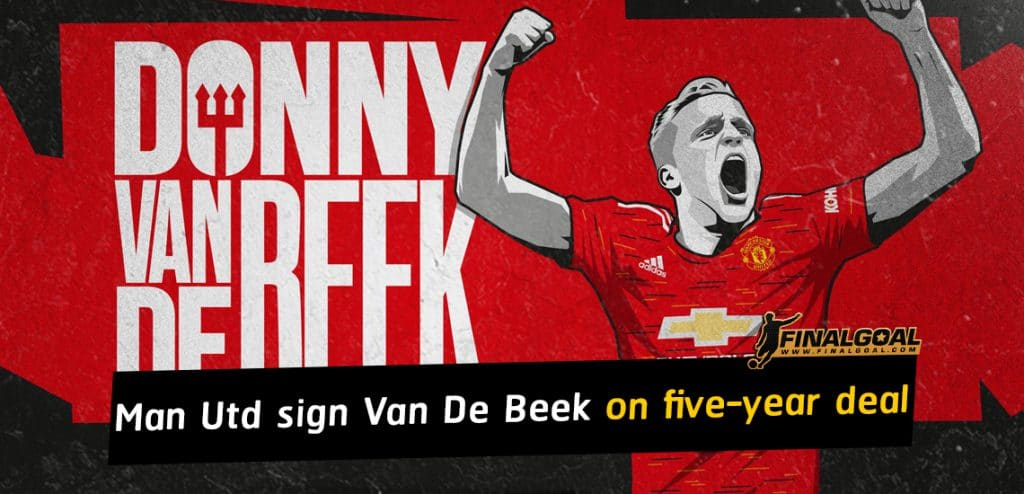 Manchester United sign Donny van de Beek on five-year deal