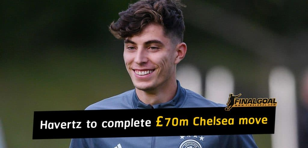 Kai Havertz leaves Germany camp for £70million move to Chelsea
