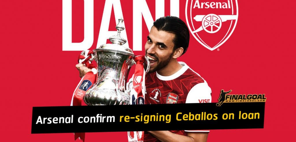 Arsenal confirm re-signing Dani Ceballos on loan from Real Madrid