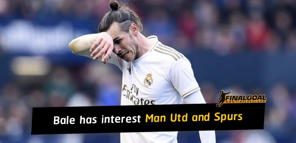Gareth Bale has interest from Manchester United and Tottenham Hotspur