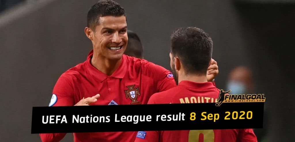 Nations League result: Portugal beat Sweden as France ease past Croatia