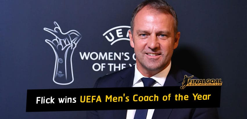 Hansi Flick wins UEFA Men's Coach of the Year award for 2019-20