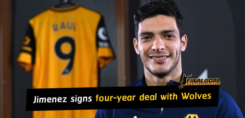 Raul Jimenez signs new four-year deal with Wolves