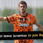 Daniele Rugani officially leave Juventus to join Stade Rennais on loan