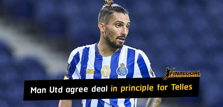 Manchester United agree deal in principle for Alex Telles