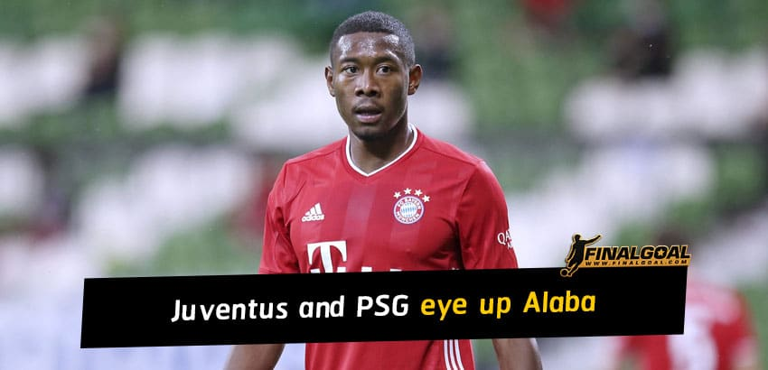 Juventus and Paris Saint-Germain eye up David Alaba