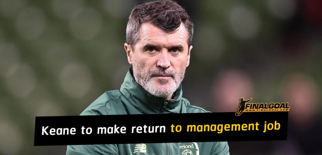 Roy Keane could make a stunning return to management with Salford