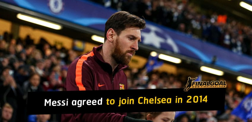 Lionel Messi had verbal agreement with Jose Mourinho for Chelsea move