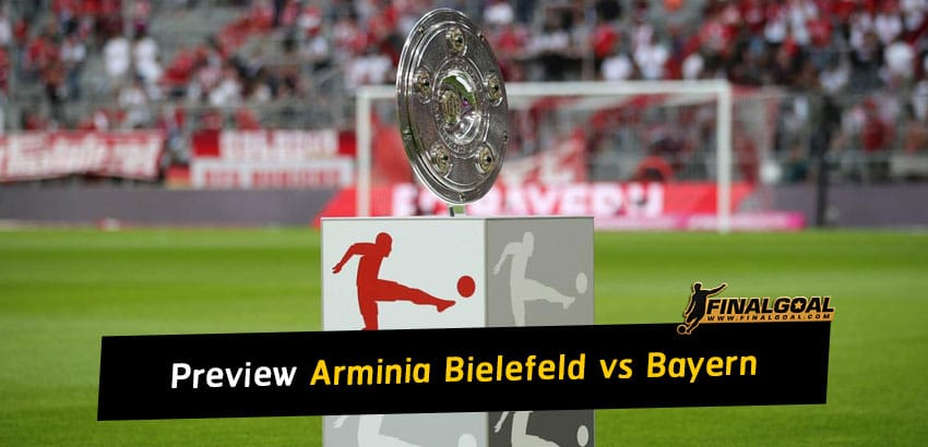 German Bundesliga match preview - Arminia Bielefeld vs Bayern Munich