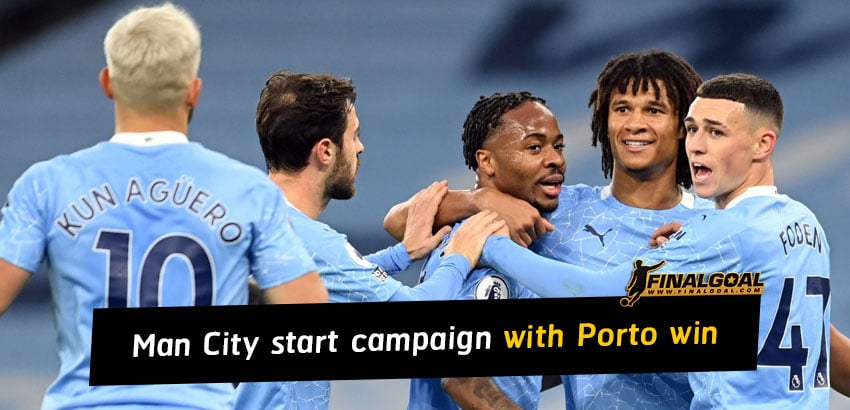 Manchester City start Champions League with 3-1 win over Porto