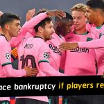 Barcelona facing bankruptcy if players reject pay cut