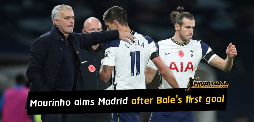 Jose Mourinho aims at Real Madrid and media after Gareth Bale's first goal