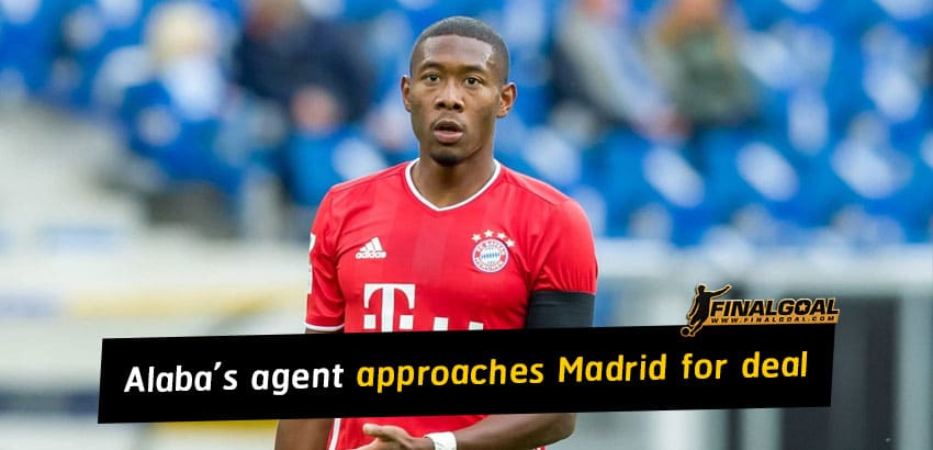 David Alaba's agent approaches Real Madrid to negotiate contract terms