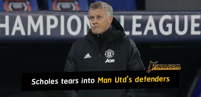Paul Scholes tears into Manchester United's hapless defenders