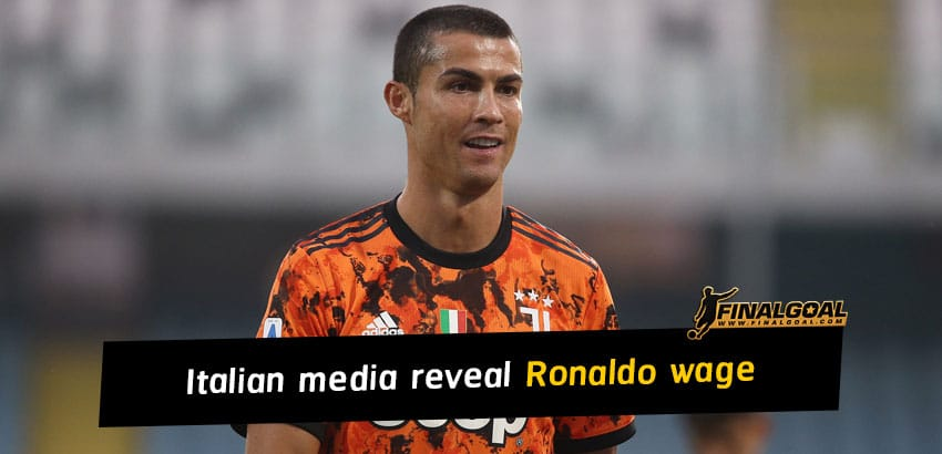 Italian media reveal Cristiano Ronaldo wage for Juventus